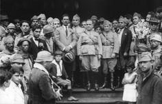Getúlio Vargas após a revolução de 1930, que iniciou a era Vargas.