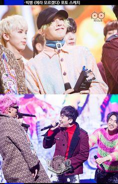 """Inkigayo PD Note"" of Big Bang @ ""Inkigayo"" (170101) [PHOTO] - bigbangupdates"