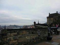 Bateria de Argyle Castillo de Edimburgo #Edinburgh #Castle