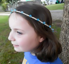 Medieval Circlet, Renaissance Circlet, Beaded Circlet, Elven Circlet, Elven Crown, Wedding Crown, Bridal Tiara, Elven Headpiece, Costume