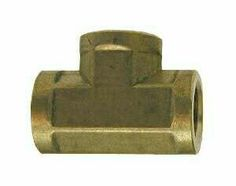 Brass Union Tee - Nptf Threads - Forged Ca 377 Brass Brass Pipe Fittings, Chevrolet Logo