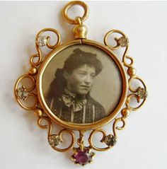 Mourning Jewelry: The unexpected death of Victoria's husband Albert in 1861 sent her, and her entire nation, into mourning. Consequently, jewelry of black enamel, jet and onyx was in high demand during the latter part of the century.