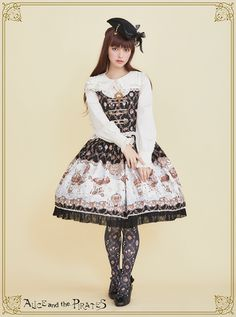 Alice and the Baloon World jumper skirt Ⅰ