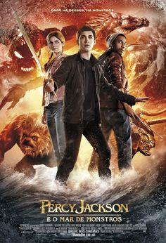 """""""Percy Jackson e o Mar de Monstros"""" ganha cartaz nacional http://cinemabh.com/imagens/percy-jackson-e-o-mar-de-monstros-ganha-cartaz-nacional"""