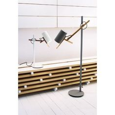 Marset Scantling A626 Architectural Floor Table Lamp by Mathias Hahn