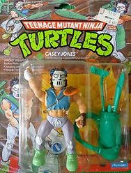 The day I got this one there weren't any Turtles to choose from but there were loads of other characters. I think I ended up choosing Casey Jones because he had the best accessories.