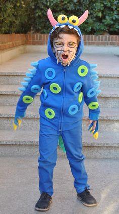 Disfraz monstruo DIY