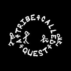 A Tribe Called Quest: Pictorial Emblem Wordmark