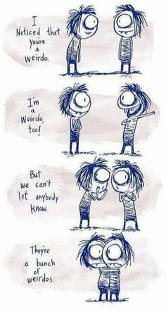 How I imagine meeting a fellow ticklr would be