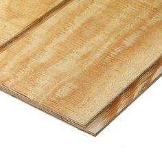Plytanium, Plywood Siding Panel T1-11 8 IN OC (Common: 19/32 in. x 4 ft. x 8 ft.; Actual: 0.563 in. x 48 in. x 96 in.), 113699 at The Home Depot - Mobile