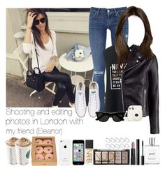 """""""Shooting and editing photos in London with my friend (Eleanor)"""" by jaynnelinsstyles ❤ liked on Polyvore featuring Citizens of Humanity, Uniqlo, H&M, Converse, philosophy, shu uemura, Deborah Lippmann, NARS Cosmetics and ASOS"""