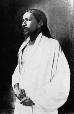 """""""EVEN IN RAGS I AM A GOD, FALLEN I AM DIVINE, HIGH I TRIUMPH WHEN DOWN-TROD, LONG I LIVE WHEN SLAIN!"""" - Sri Aurobindo (15 August 1872 – 5 December 1950) was an Indian nationalist, scholar, poet, mystic, evolutionary philosopher, yogi and guru; born Aravinda Akroyd Ghose, who first came to prominence in India's struggle for independence from the British."""