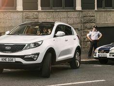 Sogar Polizisten staunen, wenn ihr mit dem Kia Sportage einparkt!  #Sportage