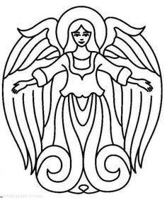 angel printable | Free Printable Angel Patterns and Angel ...