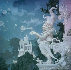 Сказочные картины художника Daniel Merriam (37 фото - 6,67.Mb) » Фото, рисунки