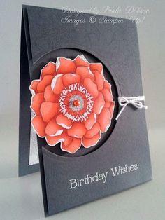 BLENDED BLOOM BIRTHDAY by Paula Dobson (New Zealand)