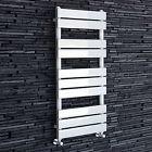 1000 x 450 White Heated Towel Rail Modern Bathroom Designer Radiator RW1000450