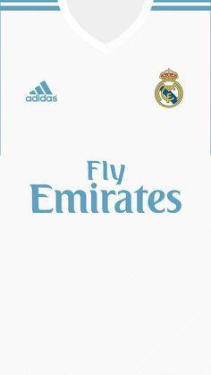 Real Madrid Kit 2017/18 | Wallpaper for mobile on Behance