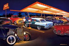 These limited edition automotive art prints are beautiful reproductions of the…