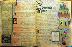 art journaling site