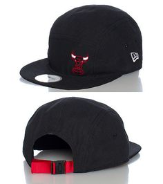 NEW ERA Basketball camper style strap back cap Adjustable strap on back of  hat for ultimate comfort Embroidered team logo on front 7016556f88d