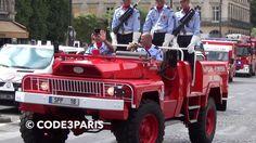 BSPP Véhicules 14 julliet // Paris Fire Brigade Bastille Day