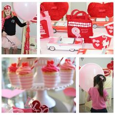 Valentine party with custom party favors by Shawna Brockmeier