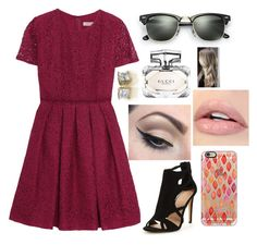 """""""Untitled #835"""" by aneesakhan02 ❤ liked on Polyvore featuring Burberry, Casetify, Mehron, Gucci and Ray-Ban"""