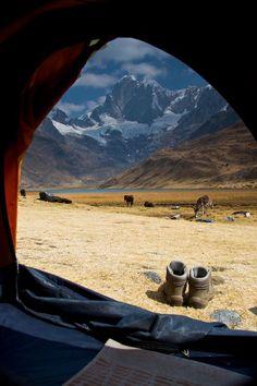 Cordillera Huayhuash Trek, Huaraz, Peru.