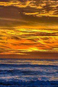 Golden turbulent sky share moments