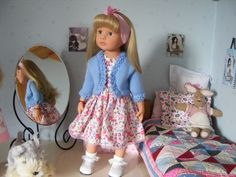 Bolero knitted by me Dress Vintage Baby
