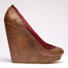 Biocouture shoe inside