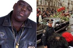 Notorious Big Funeral Service