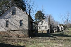 District 12 (Hunger Games). The slums of District 12 were filmed in an already abandoned 1920s textile community at Henry River Mill Village, North Carolina.