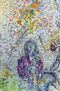 https://flic.kr/p/6tCZMc | Marc Chagall, mosaic, Chicago