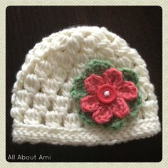Alli Crafts: Cluster Hat