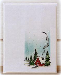 Penny Black - Christmas Cottage