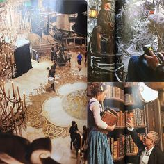 Another one of my favorite #magazine sections in the #EntertainmentWeekly Special Edition Magazine for Live Action Beauty and the Beast is the behind-the-scenes footage as the movie is being filmed. The featured images in the magazine truly shows the magic of the film on how this #TaleAsOldAsTime is brought to life. The set designs of the Grand Ballroom, Wintry Forest, and Library are wonderfully captured in this issue, providing an in-depth look at this classic masterpiece. #disney…