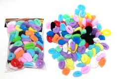 New Kids Hair Bobbles Elastic Football 24pieces Multicolour Accessories plastic