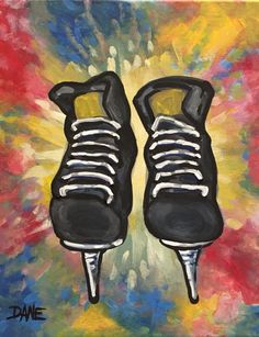 Best Canvas Painting Ideas for Beginners - Sports Painting, Painting For Kids, Diy Painting, Best Canvas, Canvas Art, Canvas Ideas, Canvas Paintings, Diy Canvas, Simple Acrylic Paintings