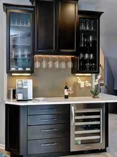 office wet bar. cambria white cliff™ office wet bar h