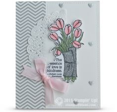 stampin up love is kindness card