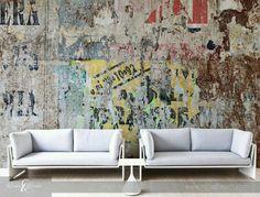 Bijzondere mural, Handmade in Italy by Affreschi e Affreschi. In Nederland via PUURkleur.
