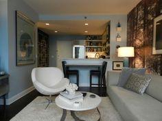 Living big in a tiny studio apartment – inspiring interior design ideas #studio #apartment #smallspaces