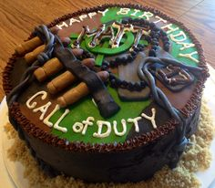 Call of Duty Birthday Cake for Teen