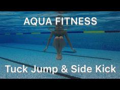 Water Aerobics Routine, Water Aerobics Workout, Water Aerobic Exercises, Swimming Pool Exercises, Pool Workout, Water Workouts, Squat, Aquatic Therapy, Cardio