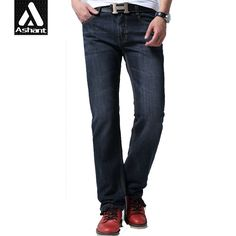 37.45$  Watch more here - http://ai456.worlditems.win/all/product.php?id=32798418224 - Men Black Slim Fit Jeans Plus Size Long Legs 2017 Autumn Fashion 28 29 30 38 40 42 44 120 cm Full Denim Pants For Man