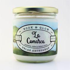 Vela de soja La Comarca para amantes de los libros de BookandGlow en Etsy https://www.etsy.com/es/listing/526034637/vela-de-soja-la-comarca-para-amantes-de