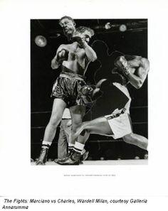 The Fights: Marciano vs Charles, Wardell Milan, courtesy Galleria Annarumma