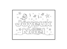 Learning a foreign language is a perfect way to introduce your child to different countries and cultures. Let your child have fun decorating and personalising this Christmas card in French!